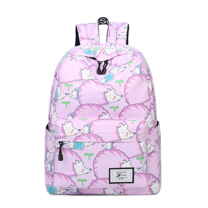 MIWIND Brand Unique Printing Backpack Women Bookbags Backpack Schoolbag for Girls Rucksack  TJQ963 miwind 100