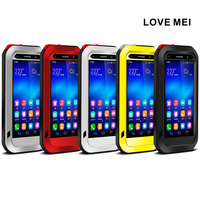 LOVE MEI For HUAWEI Honor 6 Mate 8 Mate 9 P7 P9 P10 Plus Powerful Shockproof