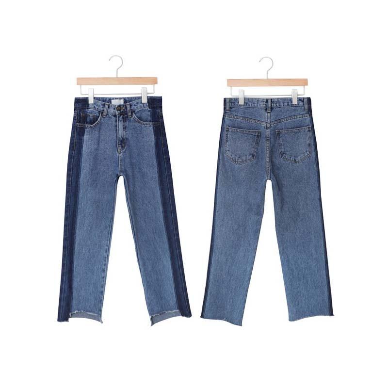 plus size denim women pants jeans ripped high waist blue long irregular boyfriend 5xl bf woman womens winter casual trouser 5