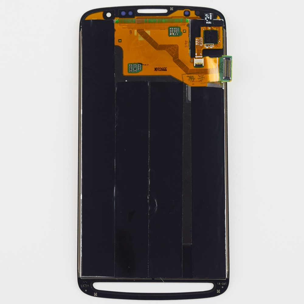 لسامسونج غالاكسي S4 نشط i9295 i537 محول الأرقام بشاشة تعمل بلمس الاستشعار الزجاج لوحة شاشة الكريستال السائل لوحة مراقبة الجمعية