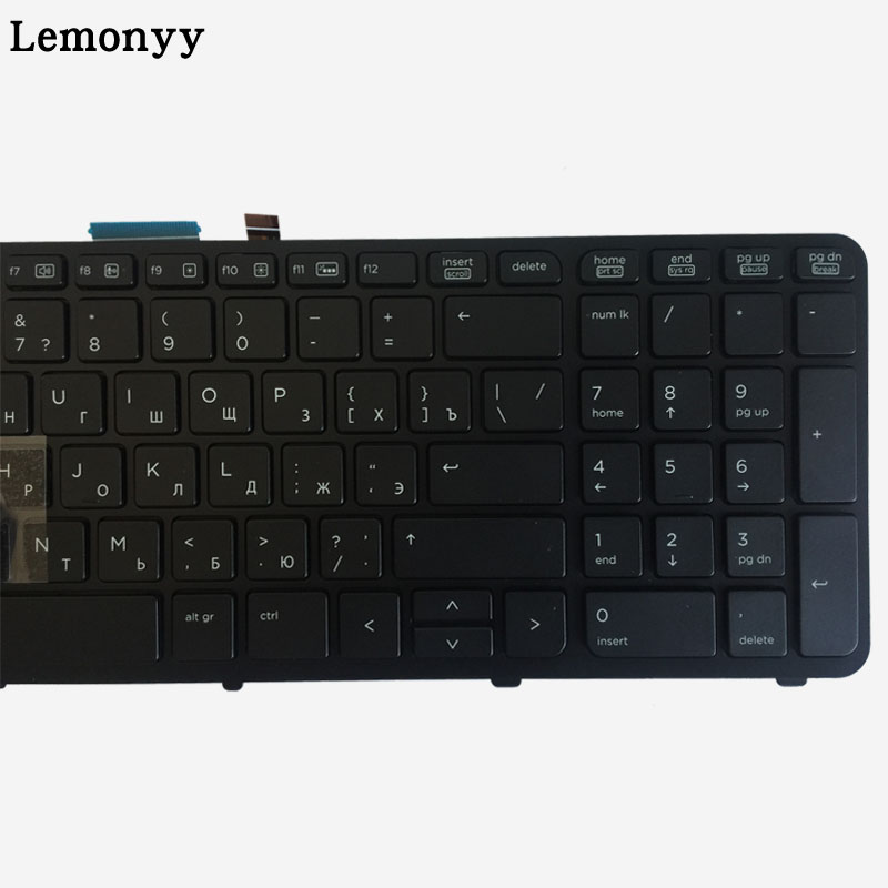 Image 3 - NEW Russian laptop keyboard FOR HP for ZBOOK 15 17 G1 G2 PK130TK1A00 SK7123BL with backlight/Pointer 733688 001-in Replacement Keyboards from Computer & Office on