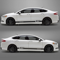 World Datong car styling sport car sticker For Ford Mondeo car accessories and decals auto sticker