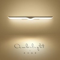 VEIHAO Modern LED Mirror Lights 0.4M~1.2M wall lamp Bathroom bedroom headboard wall sconce lampe deco Anti fog espelho banheiro