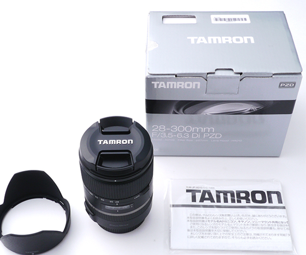 New Tamron 28-300mm F3.5-6.3 Di VC PZD Lens For Canon tamron 28 300mm f 3 5 6 3 di vc pzd объектив для canon