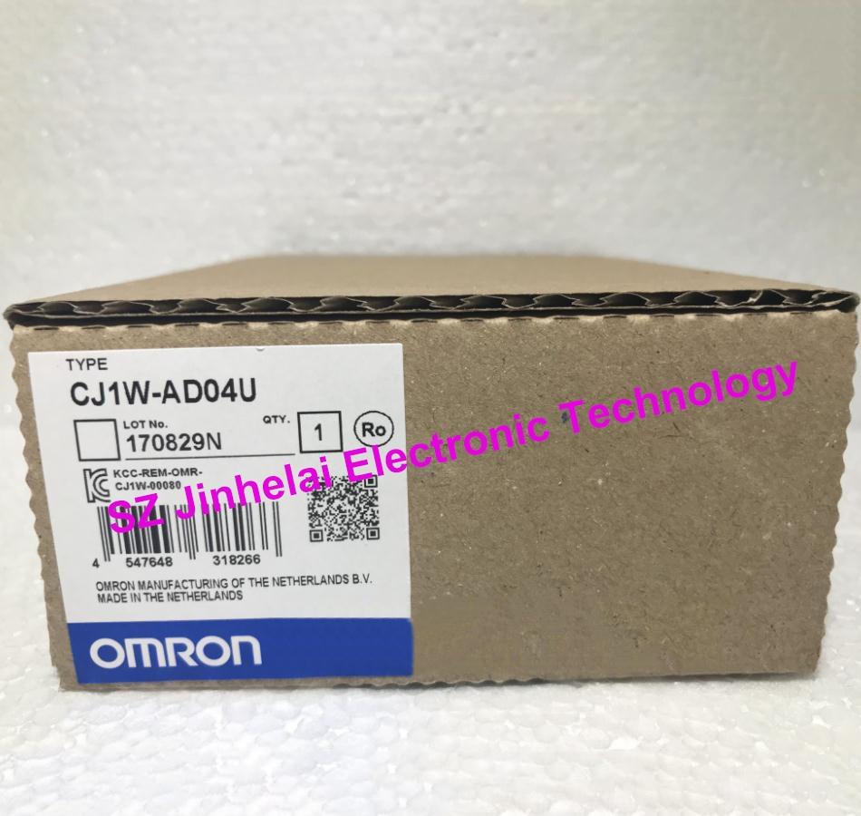 100 New and original CJ1W AD04U OMRON Analog input unit