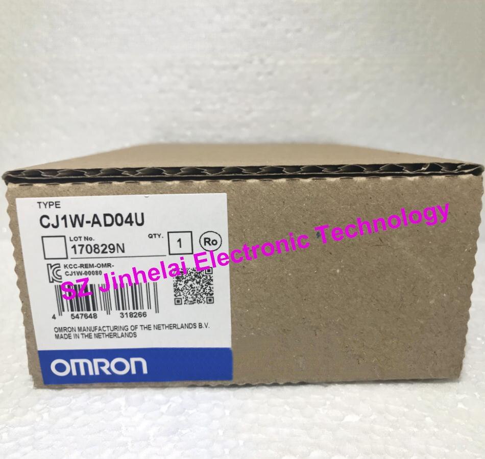 100% nuevo y original CJ1W-AD04U OMRON de entrada analógica de la unidad