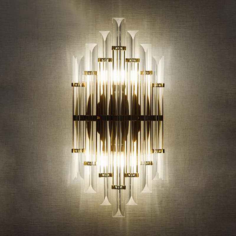 Crystal Wall Sconces Sconce Light Fixtures Modern Led ... on Modern Wall Sconces id=53840