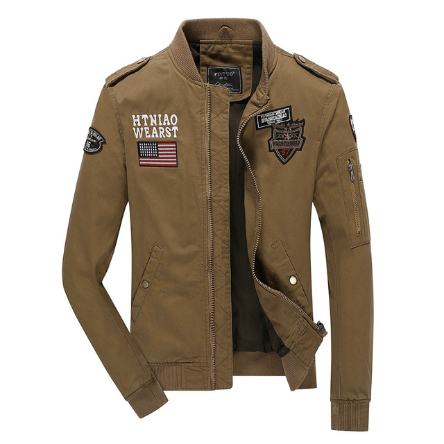 AERONAUTICA MILITARE coat,Italy brand jackets thermal clothing German uniform jacket Army Military Air Force One jacket 4XL