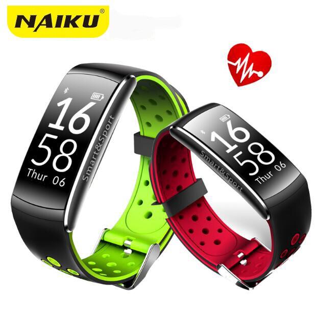 Naiku Smart Band IP68 водонепроницаемый смарт-браслет Heart Rate SmartBand Фитнес трекер умный Браслет Носимых устройств часы PKS2