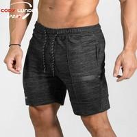2017 NEW Summer Mens Shorts Sporgymt Casual Short Brand Clothing Boys Shorts Men Jogger Trousers Knee