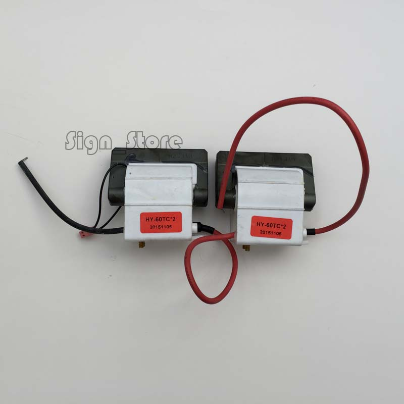 2pcs/Lot 60w laser power supply PSU High Voltage Flyback HongYuan HY-T60 CO2 Engraving Cutting Machine ignition coil 2pcs lot 60w laser power supply psu high voltage flyback hongyuan hy t60 co2 engraving cutting machine ignition coil