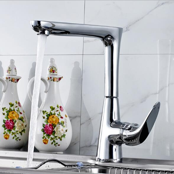 ФОТО High Quality New Arrival kitchen faucet chrome brass hot and cold water tap sink mixer tap wash basin faucet basin mixer BM