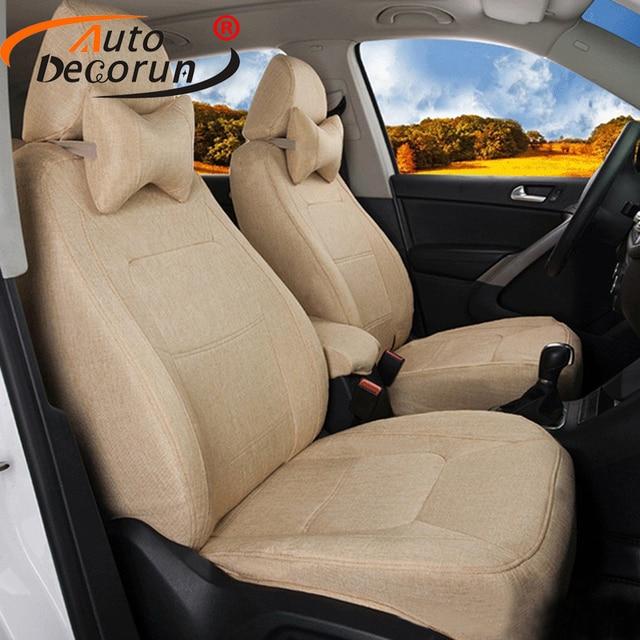 autodecorun aanpassen auto zitkussen voor toyota venza 2009 stoelhoezen set cars seat ondersteunt auto interieur accessoires