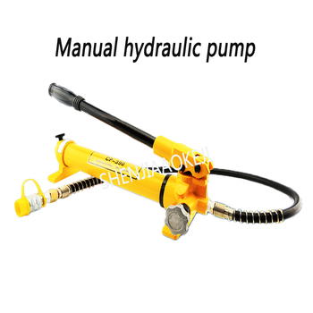 1PC CP-390 Manual hydraulic pump 600kg/cm2 Ultra high pressure pump Manual pump Sealed/no oil leakage commercial manufacture