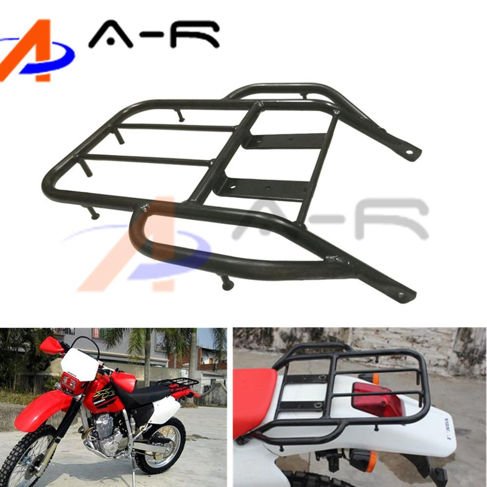 Motorcycle Detachable Rear Fender Luggage Rack Support Holder Saddlebag Cargo Shelf Bracket Kit for Honda XR 250 400 Heavy Duty
