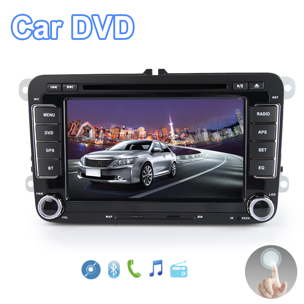 Viecar 2 Din 7''Car DVD Player For VW Volkswagen SEAT SKODA golf 6 passat b6 b7 With 3G USB WIFI BT IPOD FM RDS GPS Navigation цены