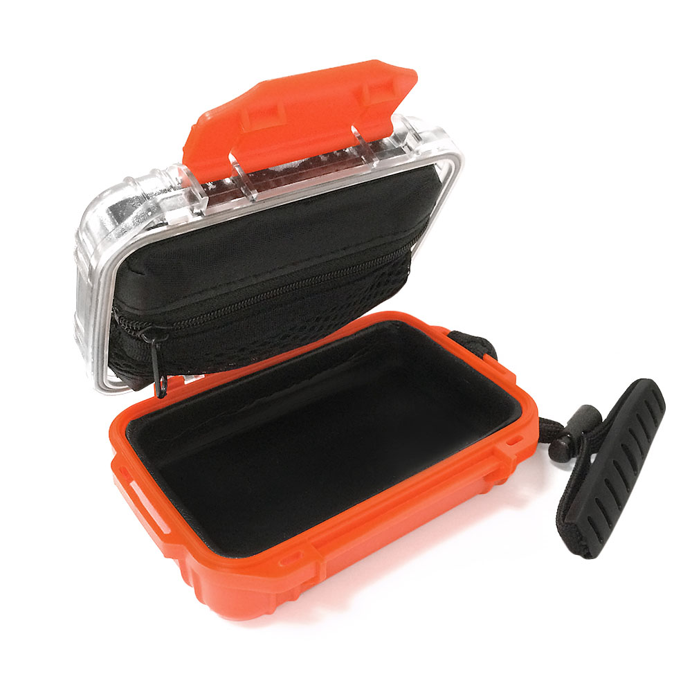 In-Ear Monitor Earphone Protective Hard Case Box Waterproof Shockproof Carrying Case