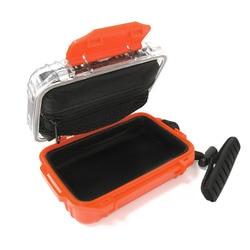 In-Ear Monitor Earphone Protective Hard Case Box Waterproof Shockproof Carrying Case