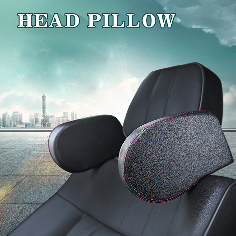 1pcs Universal Car Seat Side Headrest Pillow Kids Adjustable Sleeping Head Neck Rest Support Cushion Safety