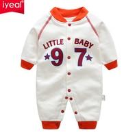 IYEAL Autumn Newborn Baby Boy Rompers Baby Boy Sport Clothes Children Jumpsuits Kids Baby Girl Clothes