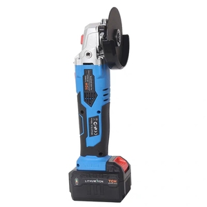 Image 3 - 16V Cordless Brushless Lithium Ion Angle Grinder Grinding Power Tool Cutting and Grinding Machine Polisher 100/115mm Wheel