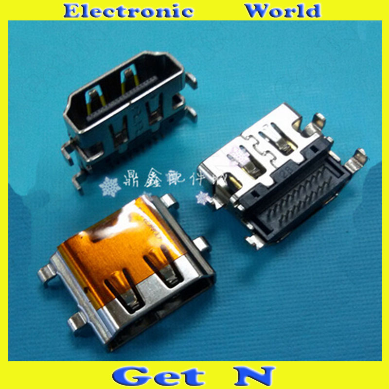 HDMI Female Connectors Sink Type 19Pins Aboral HD TV Laptops Motherboard HDMI Female Jacks