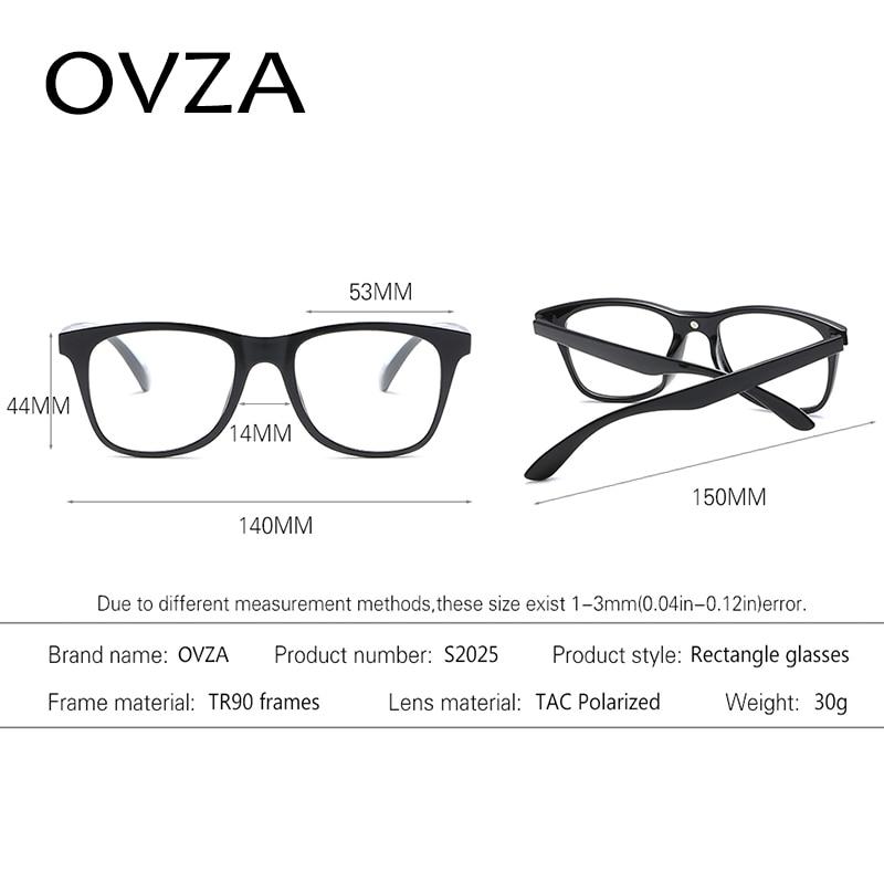 addd7ec408b Ovza Polarized Driving Sunglasses Women Night Vision Goggles Men TR90 Ultra  light Sunglasses Fashion Removable Lens S2025-in Sunglasses from Men s  Clothing ...