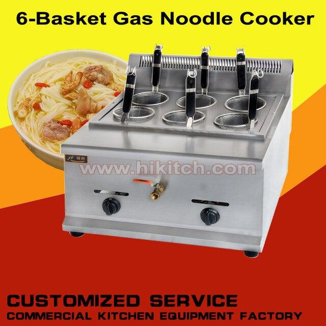 Harga Pabrik Dapur Gas Pasta Cooker Hot Pot Perebus Mie Pangsit