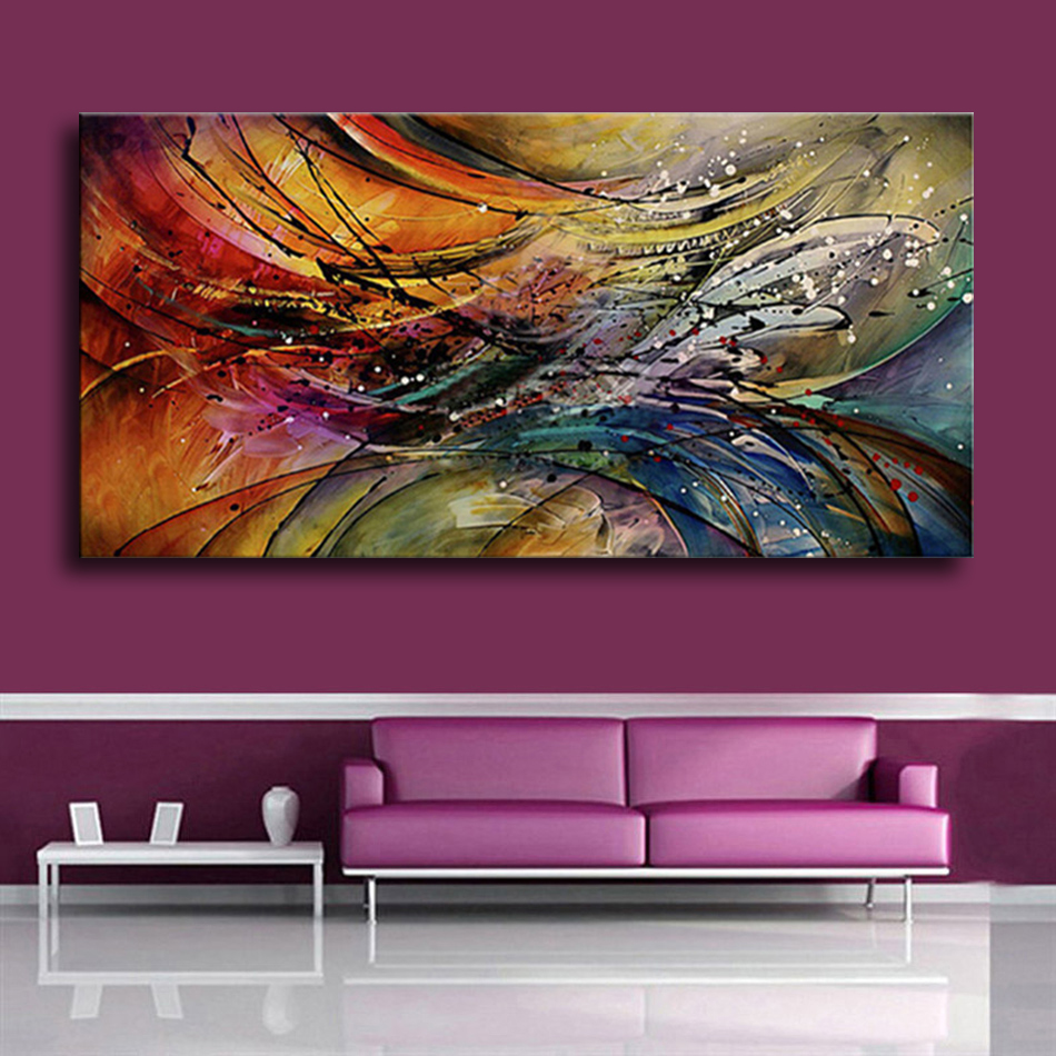100% Hand Painted Modern Abstract Oil Paintings Home Wall Art Canvas Set  With Red White Geometric Artwork For Living Room Decor|oil painting|modern abstract  oil paintingabstract oil painting - AliExpress
