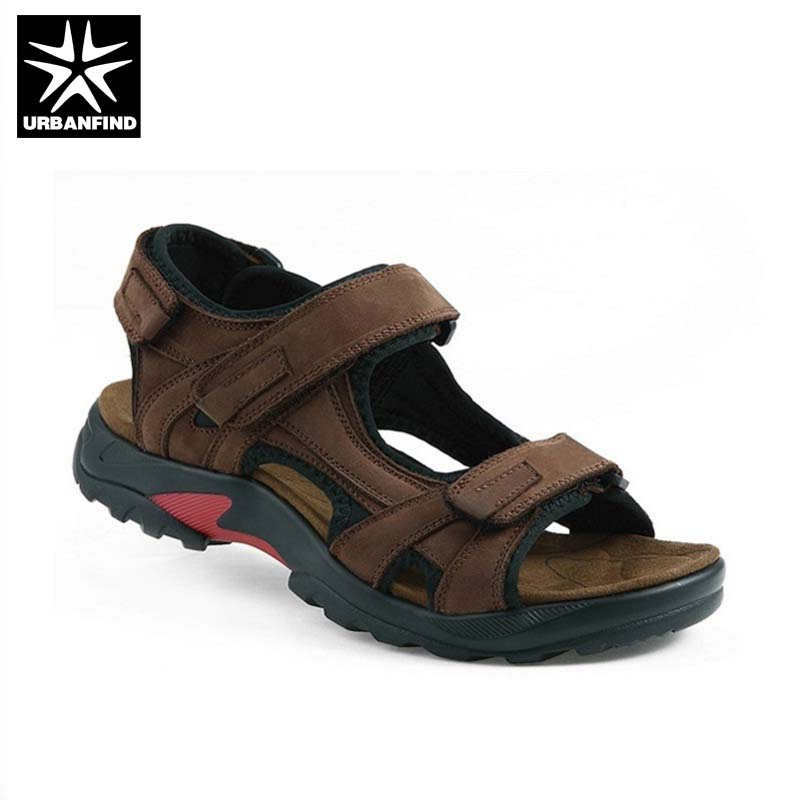 New Summer Shoes Men Casual Leather Sandals Plus Big Size 38-48 Man Popular Man Fashion Sandals
