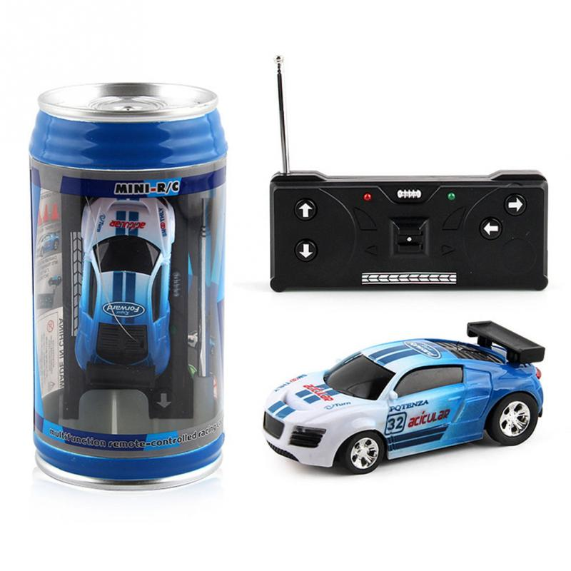 Coke Can Mini RC Car Hot Sale 20KM H Radio Remote Control Micro Racing Car Frequencies