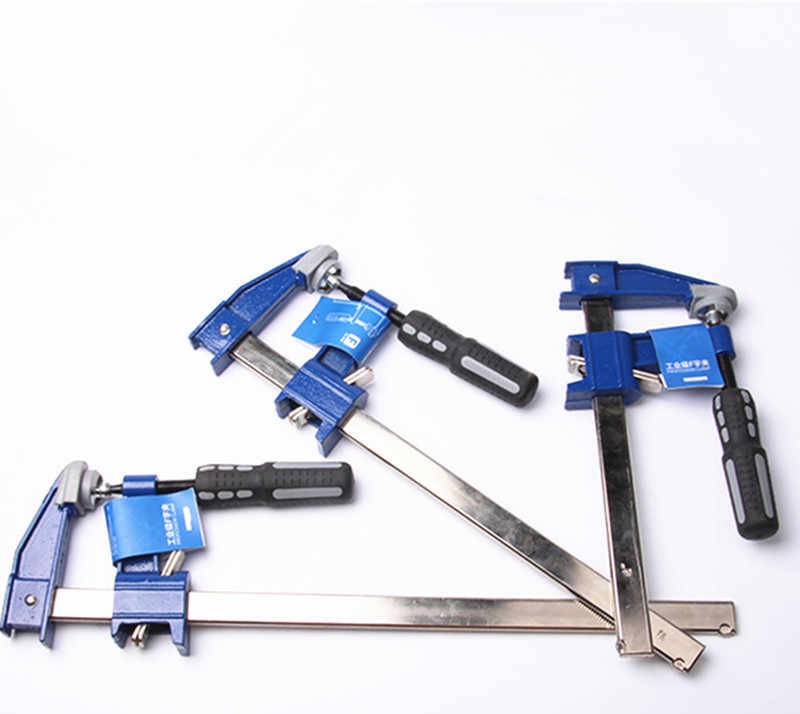 Hs Tools 6 10 12 18 Inch Heavy Duty Blue F Clamp Woodworking Clamp Hand Wood Tool Clamps Aliexpress