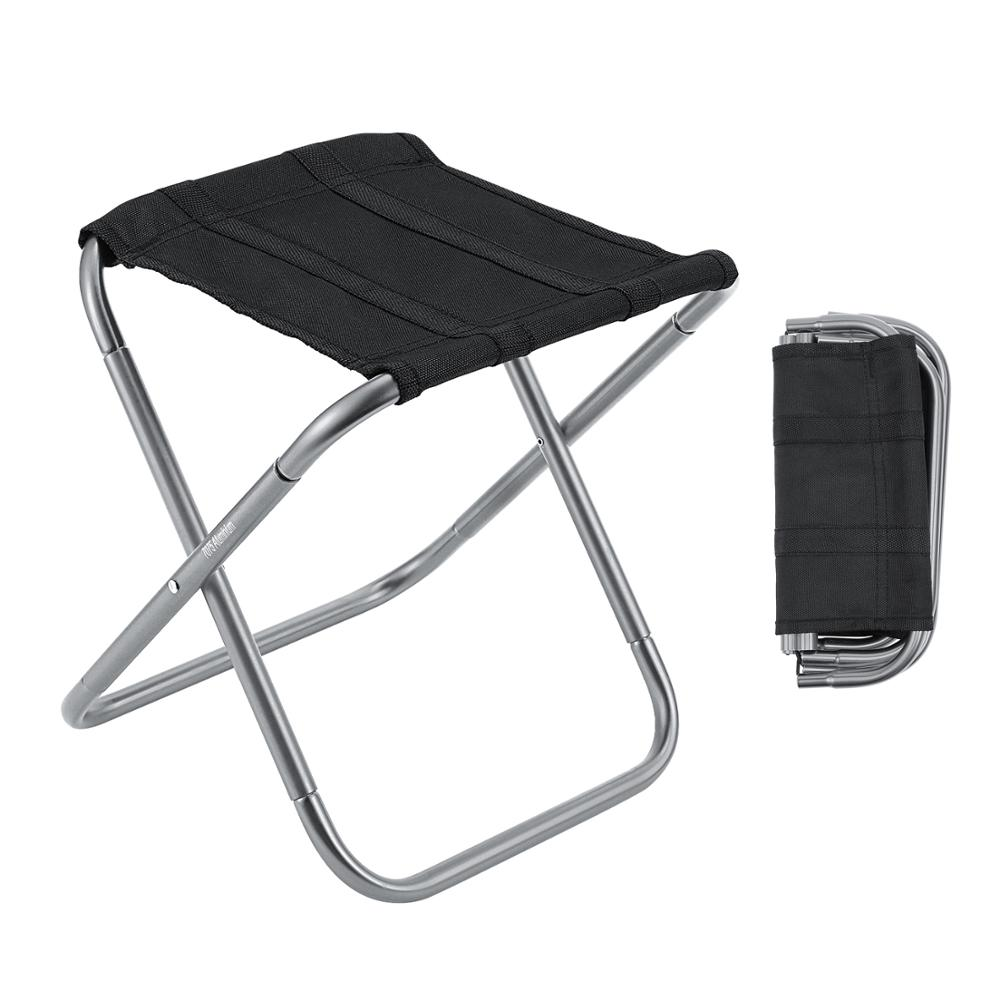 Gonex M/L Folding Fishing Chair Lightweight Camping Stool Portable Ultralight Camp Seat For Outdoor Travel Hiking Picnic BBQ
