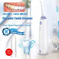 Portable Water Flosser Jet Dental Floss Teeth Denture Cleaner Oral Irrigator Tooth Care Mouth Hygiene Cleaner Rechargeable