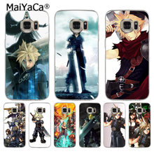 MaiYaCa Final Fantasy VII FF7 Anime gemälde abdeckung handy Fall für samsung galaxy s8 s7 rand s6 edge plus s5 s9 fall(China)