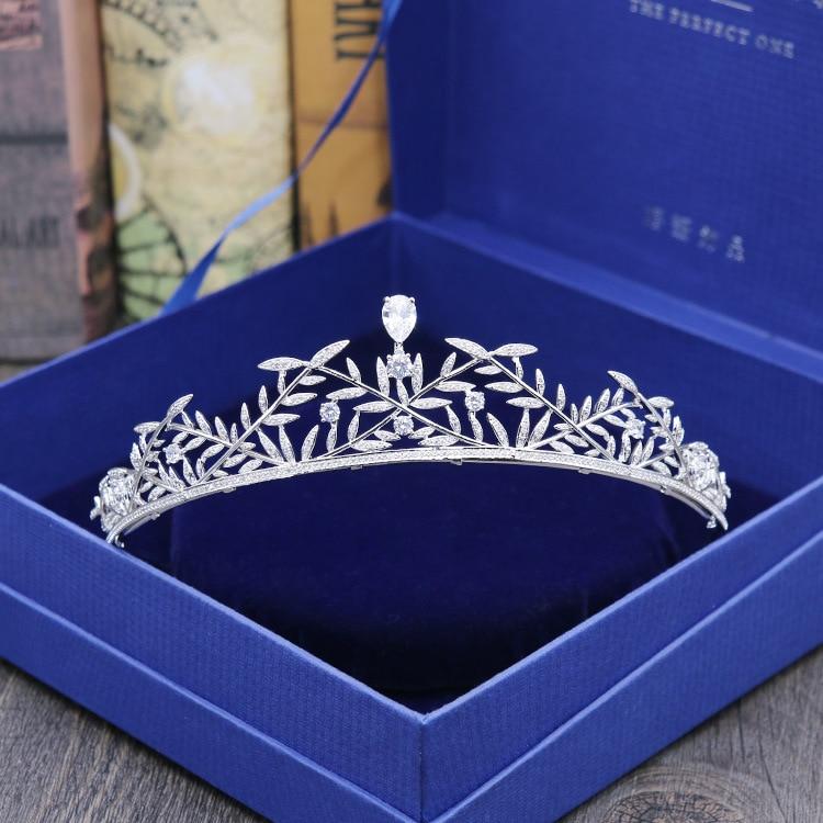 2018 New fashion micro-mosaic All Zircon crown bride headdress crown wedding hair ornaments birthday crown Big Beautyful crown svart crown svart crown abreaction lp cd