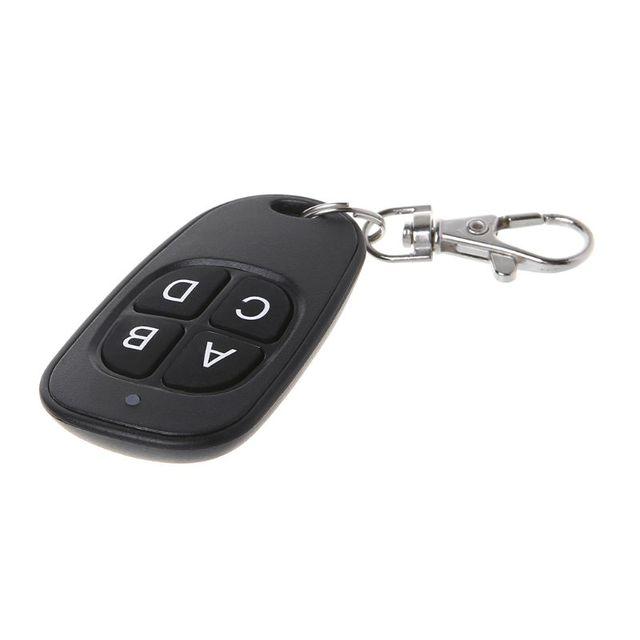 Copy Remote Control 433MHz 315MHz Cloning Duplicator Wireless 4 Keys Universal Waterproof Handle Garage Gate Electric Door Key