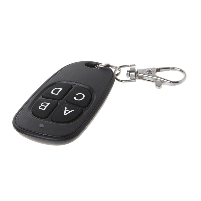 Copy <font><b>Remote</b></font> Control 433MHz 315MHz Cloning Duplicator Wireless 4 <font><b>Keys</b></font> Universal Waterproof Handle <font><b>Garage</b></font> Gate Electric Door <font><b>Key</b></font> image