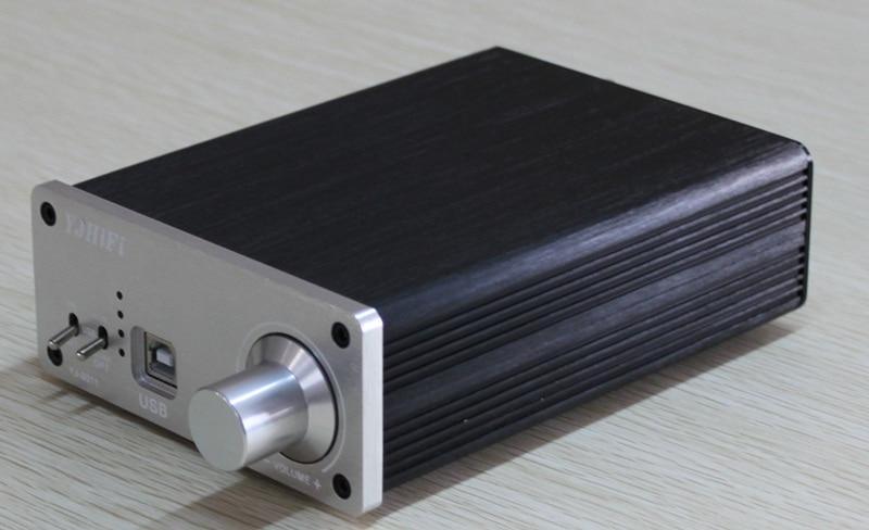 DC20V to DC24VTDA7492 Fiber Coaxial USB DAC Decoding Power Amplifier (50W+50W) dc24v 50w 50w tda7492 bluetooth fiber coaxial dac decoder amplifier with usb input amplifier