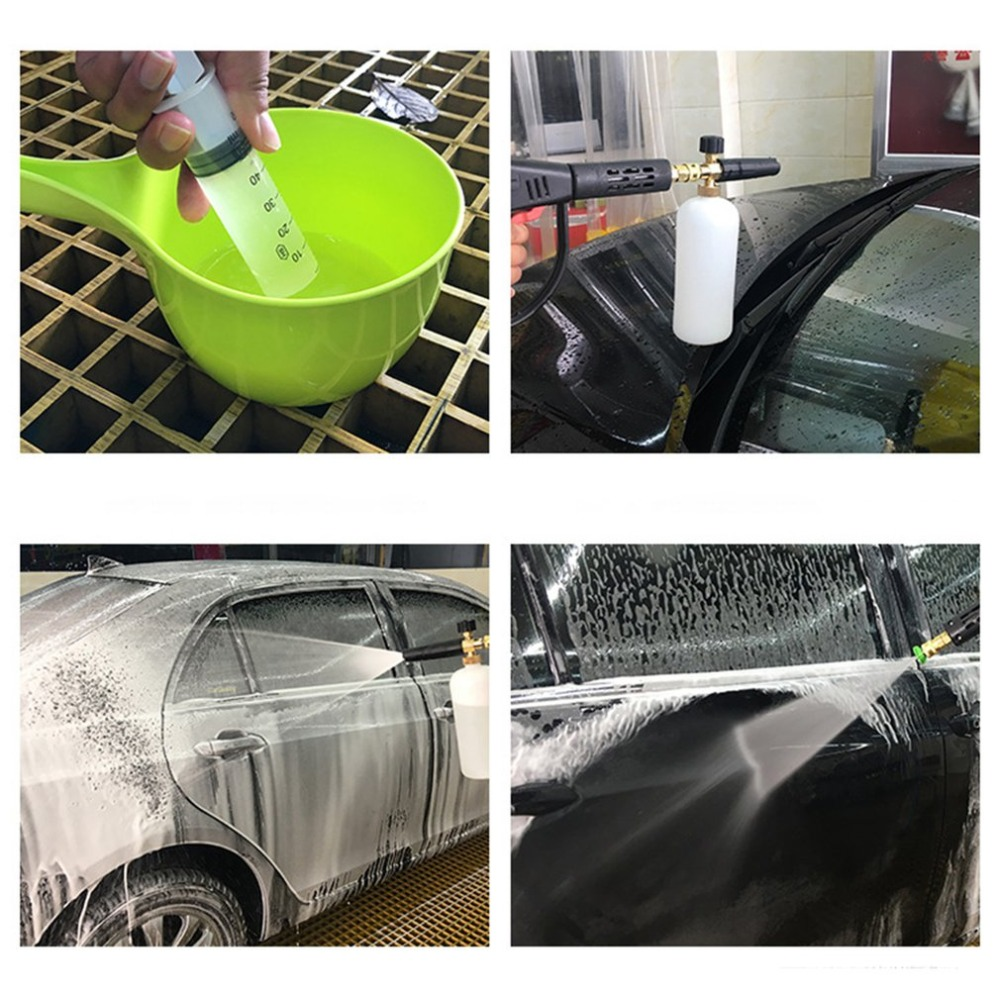 Car Washer Automobiles & Motorcycles Vehemo With Adapter Sprayer Pressure Washer Gun Water Gun Snow Foam Lance Adjust Car Foamer Wash Bottle Maintenance