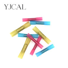 50/100PCS BHT1.25 2 5 Insulated Heat Shrink Quick Butt Joint Waterproof Connector Wire Electrical Crimp Terminal High Quality(China)