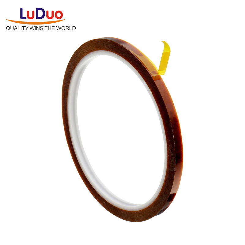 Luduo 33m Automotive High Temperature Heat Resistant Tape Thermal Polyimide Adhesive Tape 3d Print Board Protection Car Stickers