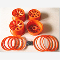 5b nylon wheel with beadlock ring and screws For 1/5 HPI Baja 5B 5T