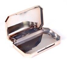 1 шт или 10 шт Золотой пластиковый чехол для ресниц Роскошные инструменты для накладных ресниц