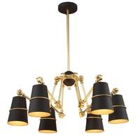 After The Modern Creative Designer Personality Art Spider Pendant Lights Luxury Villa Penthouse Floor Dining Room