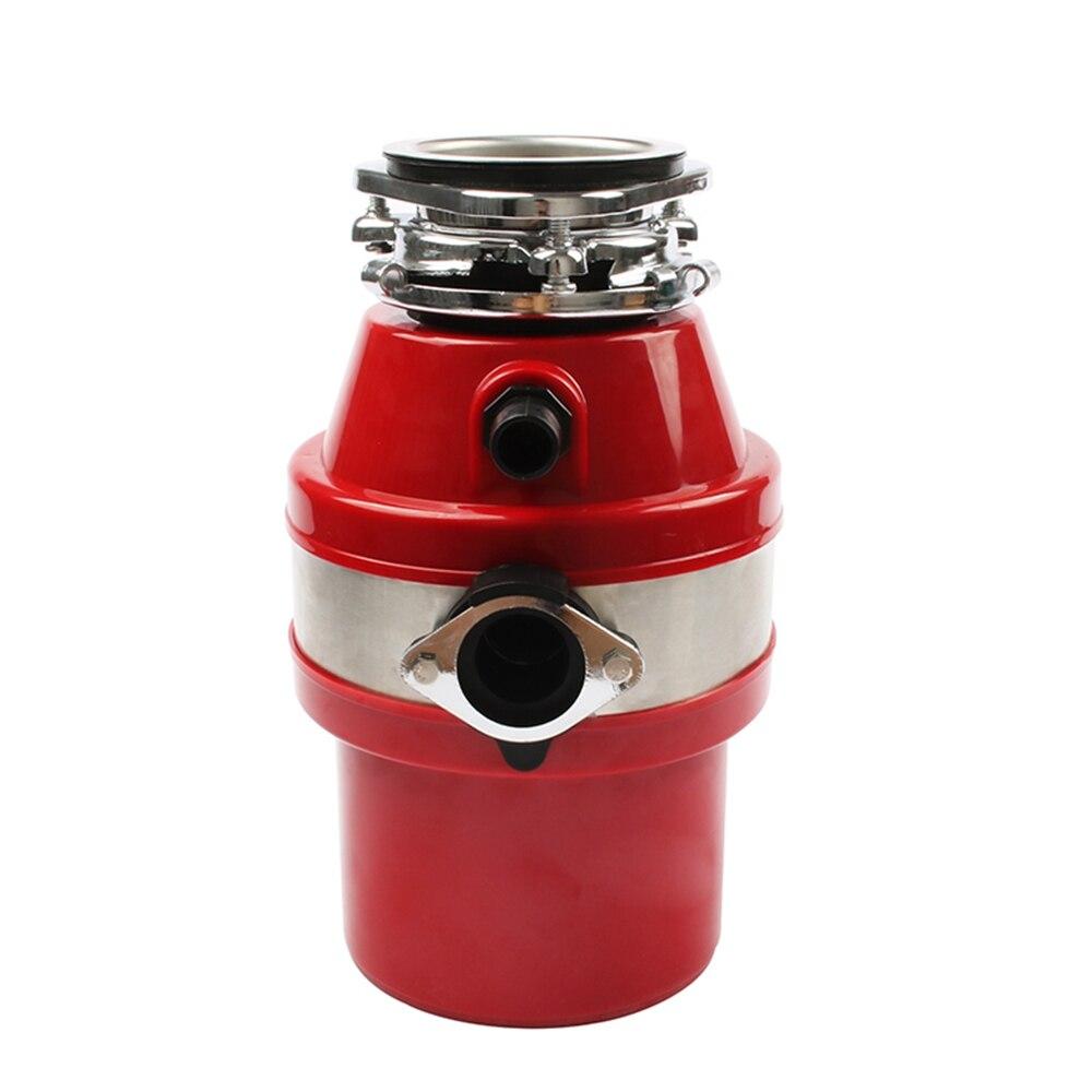 Ev Aletleri'ten Gıda Atık Öğütücüler'de HIMOSKWA gıda atık öğütücü 370W gıda kalıntı çöp işlemci kanalizasyon çöp bertaraf kırıcı değirmeni mutfak lavabo aletleri title=