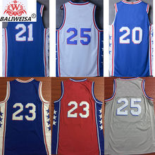 03db935e New tank tops city edition Jimmy Butler Joel Embiid Ben Simmons Ricky Rubio  Karl Malone John Stockton Donovan Mitchell jerseys
