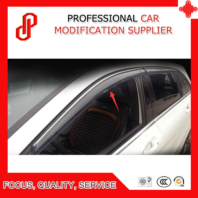 Haute qualité moulage par Injection garniture vent ombre pluie soleil vent déflecteur fenêtre visière pour B classe B170 B180 B200 B220 B260 09-18