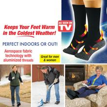2 pairs 35 Below Socks Keep Your Feet Warm and Dry As Seen On TV Aluminized Fibers Men Gift