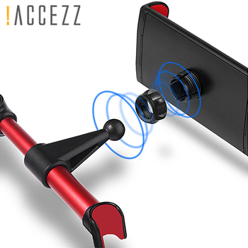 Universal Car Phone Holder For iPhone Samsung Huawei Xiaomi Smartphone Tablet Desk Back Seat Mount 360 Degree Alloy Car Holder smartphone